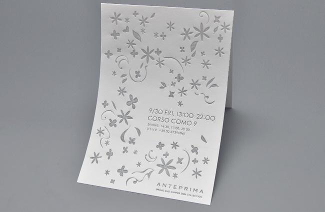 作品イメージ ANTEPRIMA SS06 Milano Collection Invitation kit-01