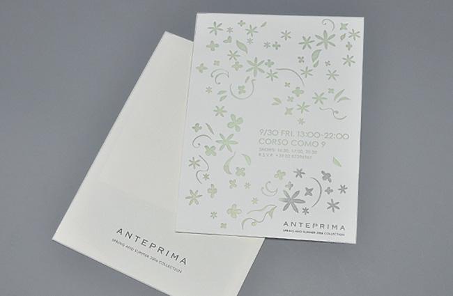 作品イメージ ANTEPRIMA SS06 Milano Collection Invitation kit-02