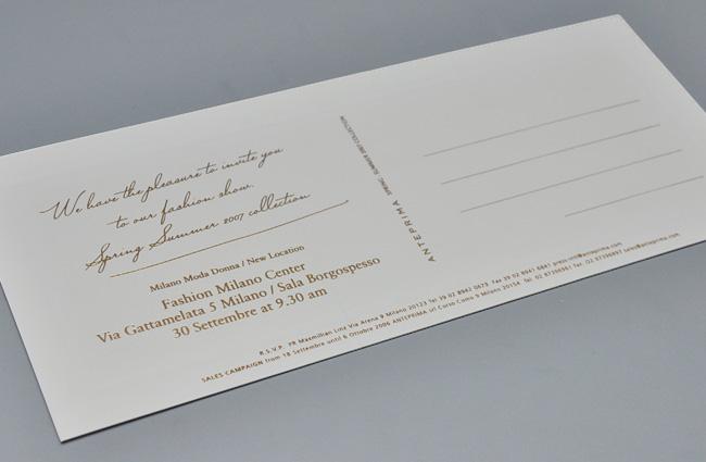 作品イメージ ANTEPRIMA SS07 Milano Collection Invitation kit-02